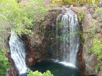 Suggested itinerary - Visit waterfalls in Litchfield Nationak Park - Example of Florence Falls in Litchfield National Park Top End Northern Territory Australia